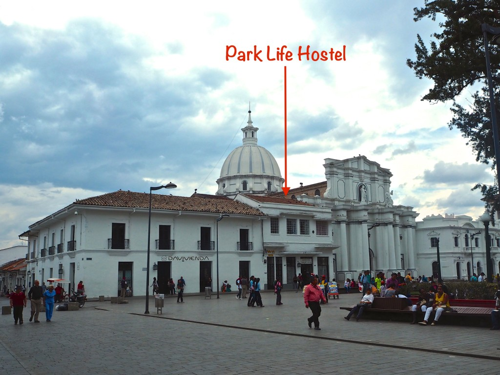 Hostel Review: Park Life (Popayan, Colombia)